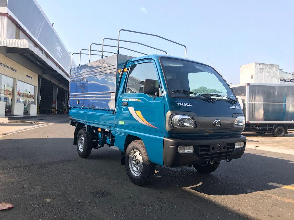 xe tải Thaco Towner 800 mui bạt tải trọng 900kg
