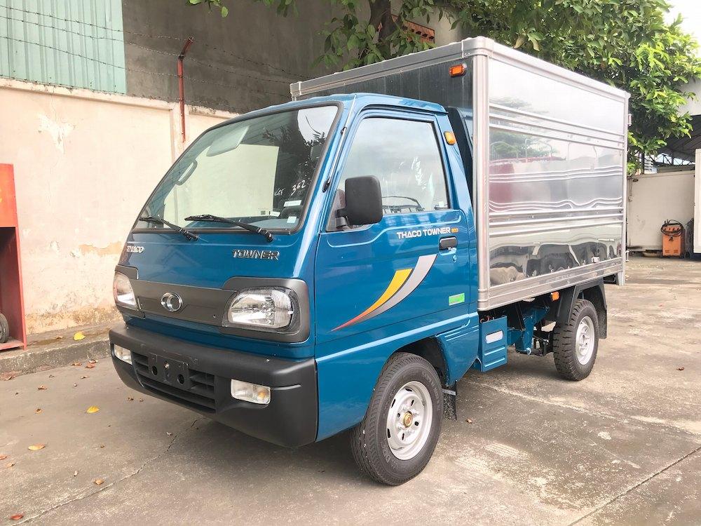 xe tải Thaco Towner 800 thùng kín tải trọng 850kg