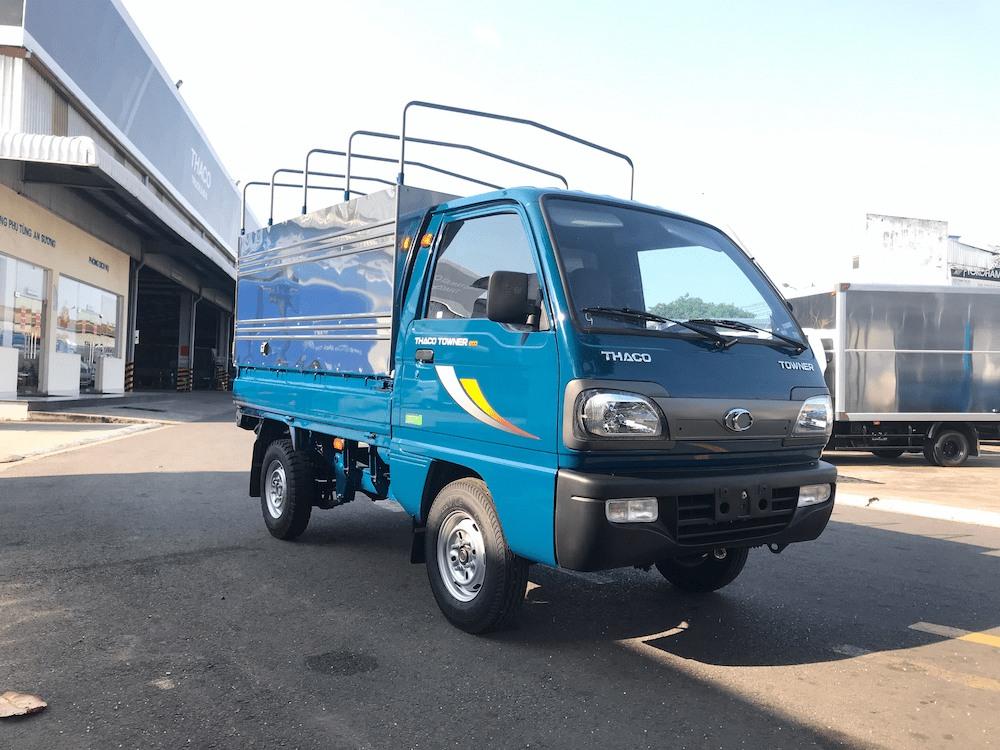 Giá lăn bánh xe tải Thaco Towner 800 tải trọng 900kg