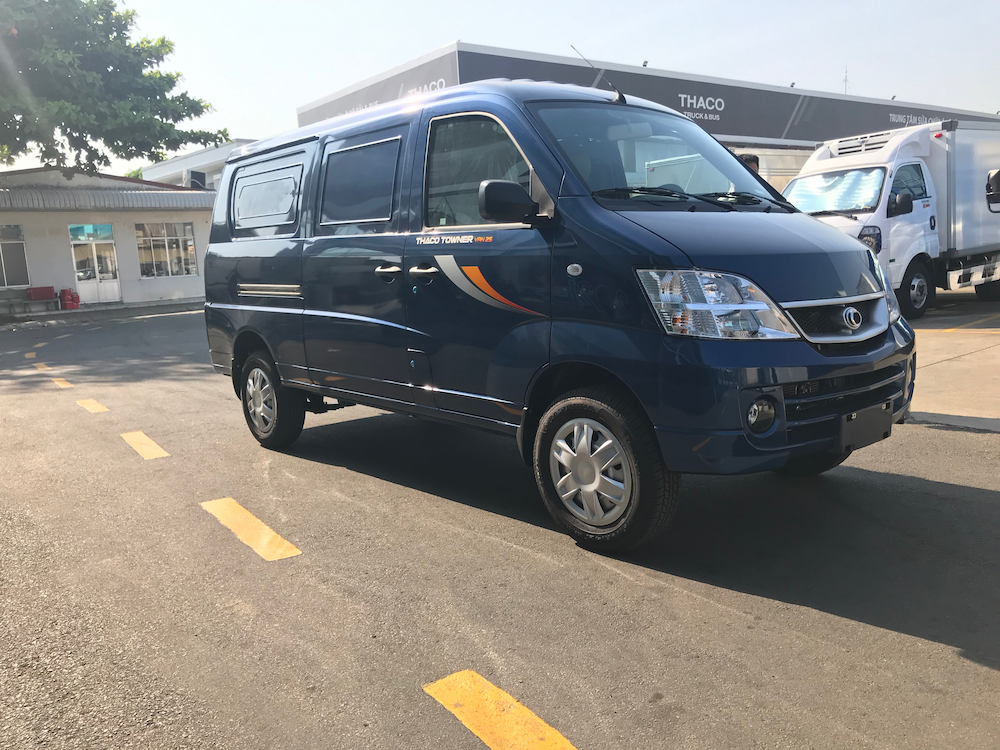 Giới thiệu xe tải Van 2 chỗ/2S và Van 5 chỗ/5S