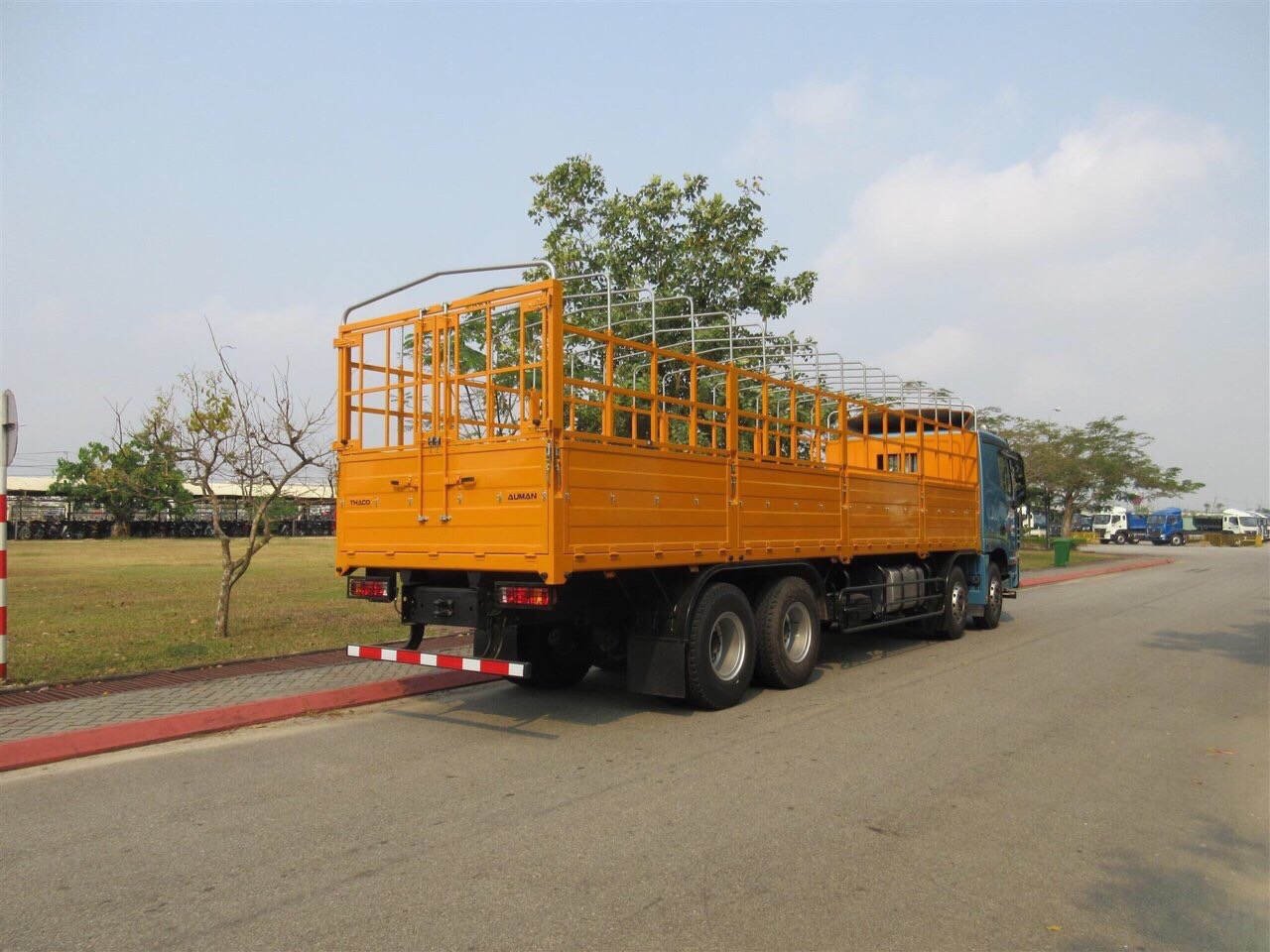 Giới thiệu Foton Auman EST C300 4 chân 17 tấn
