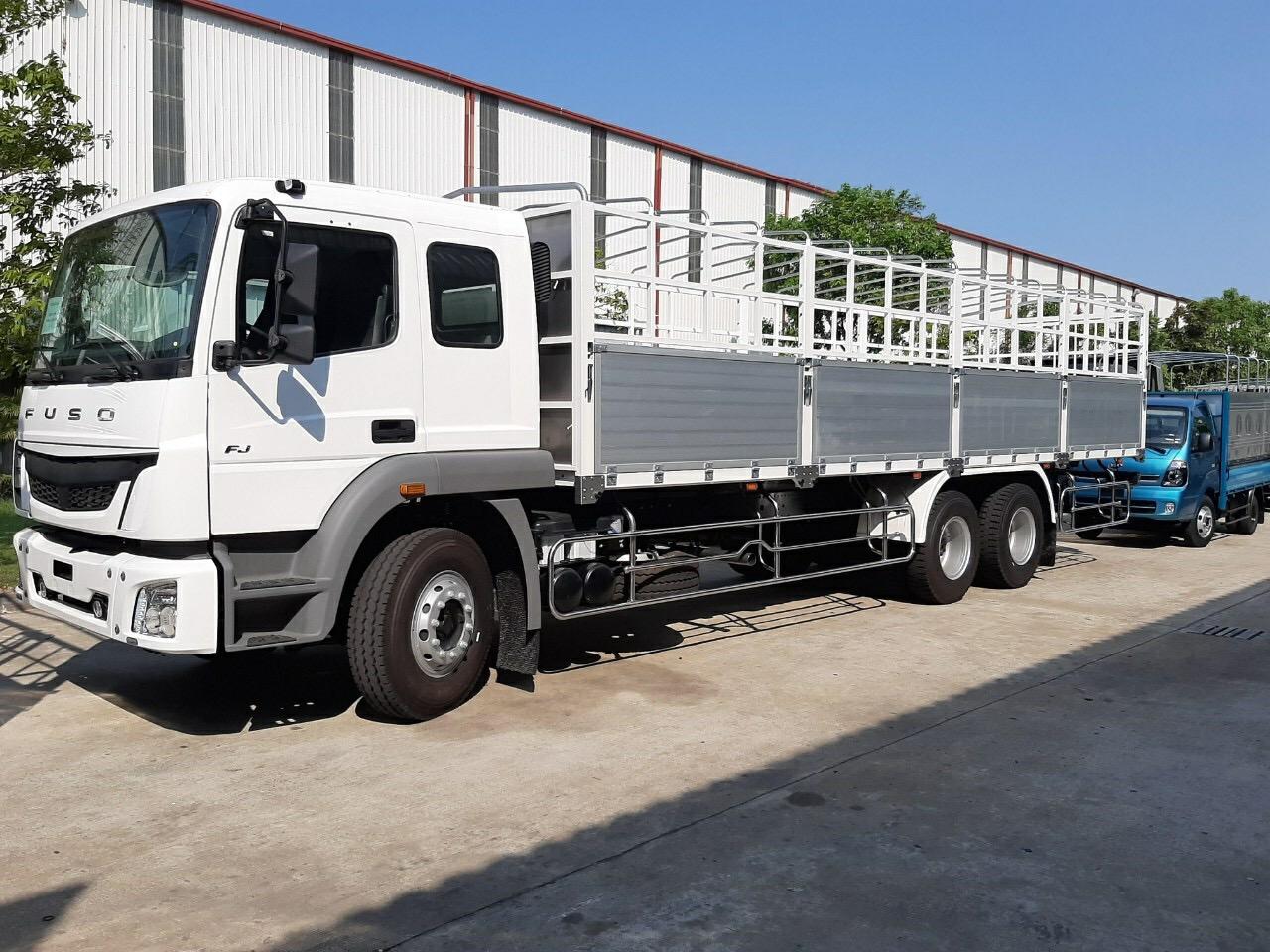 Giới thiệu xe tải Fuso FJ 285 3 chân.
