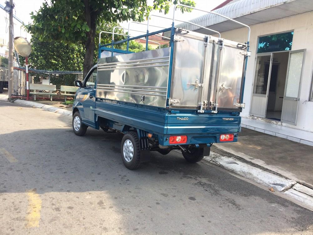 xe tải Thaco Towner 990 mui bạt tải trọng 990kg