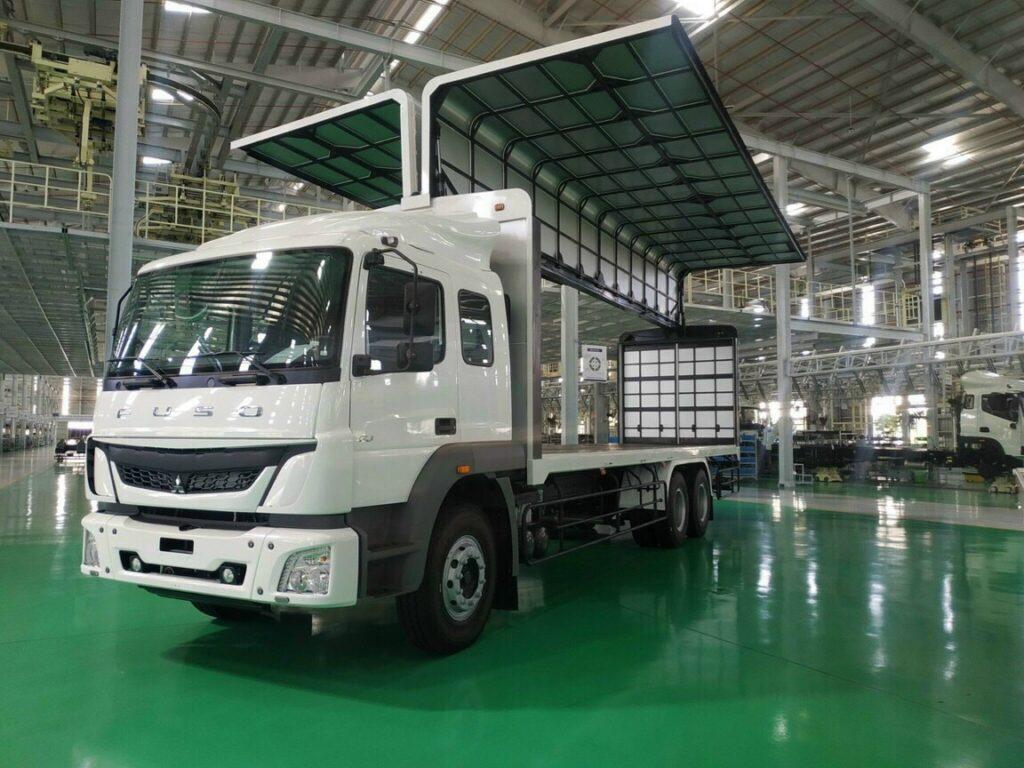 Giới thiệu về xe tải Fuso FJ 285 3 chân 15 tấn Euro 4