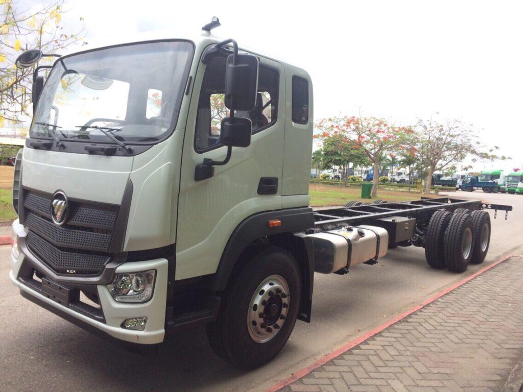 Giới thiệu về xe tải Thaco Auman 3 chân C240