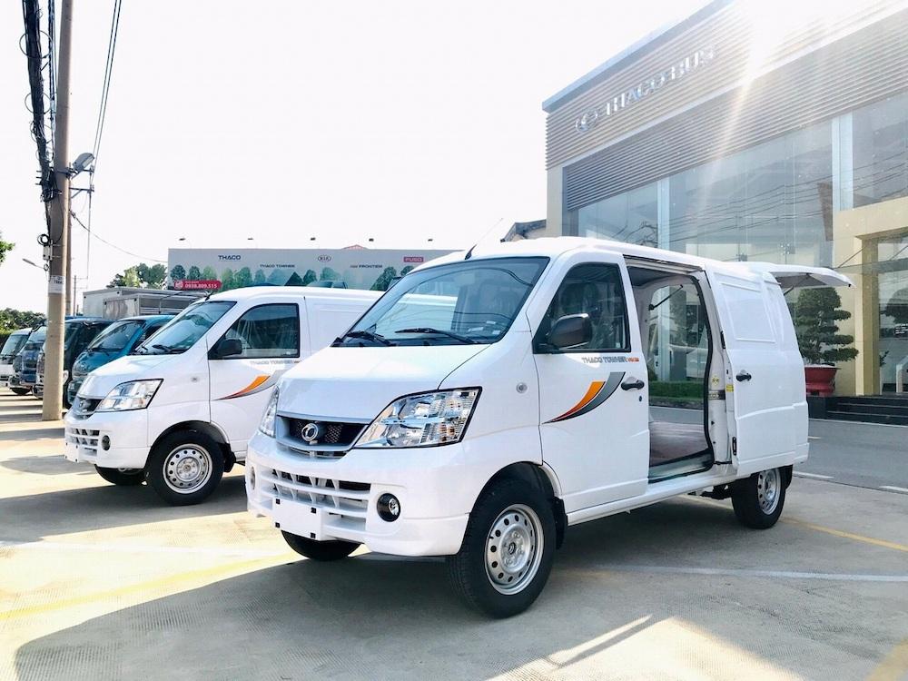 Giới thiệu xe tải Van 2 chỗ /Towner Van 2s tải 945kg