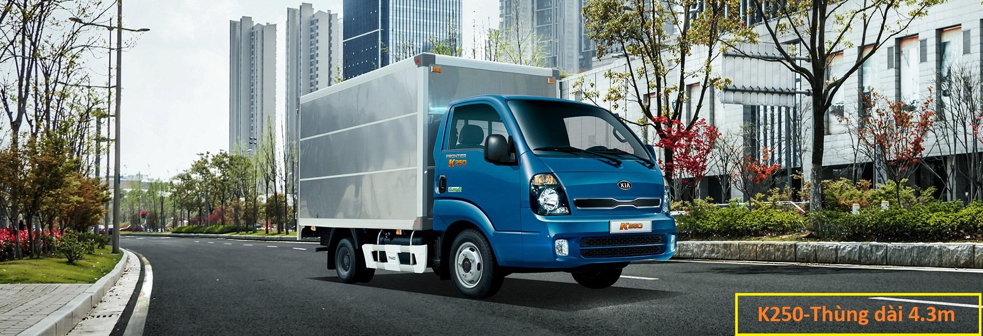 Xe tải Kia đa dạng về tải trọng, từ dưới 1 tấn (990kg), 1.49 tấn (1.5 tấn)
