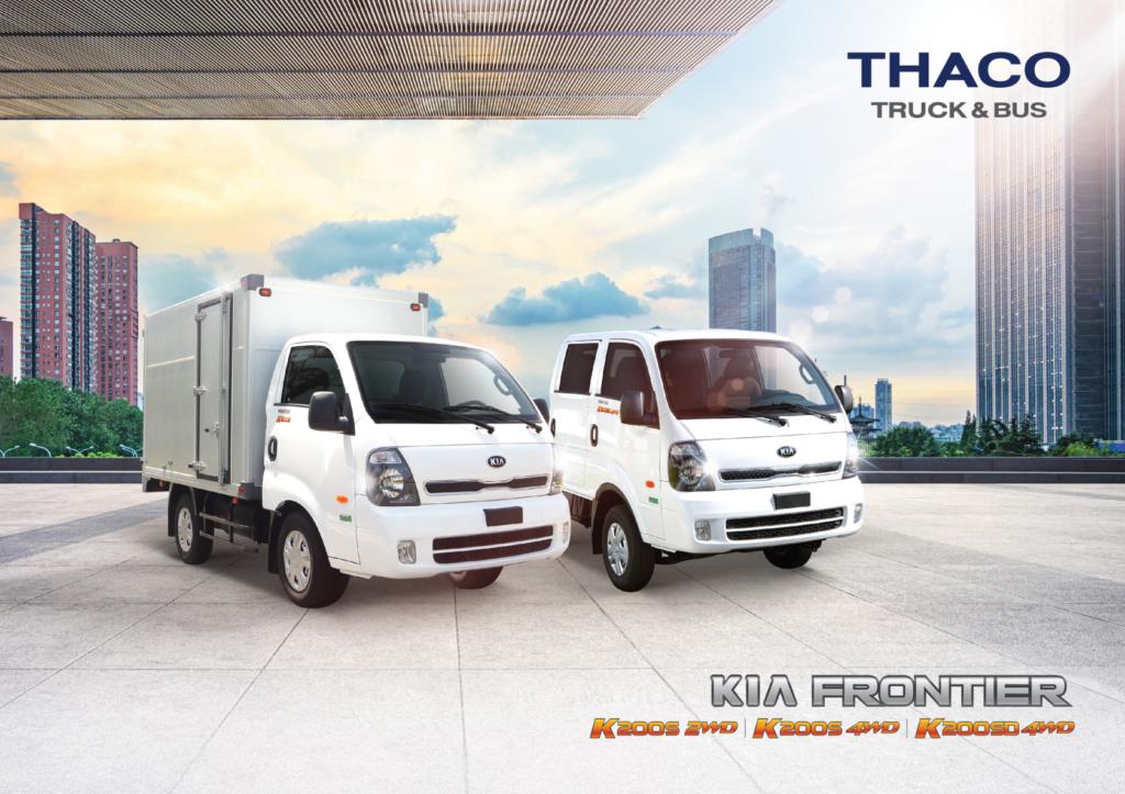 Giới thiệu dòng xe tải Kia K200s mới ra mắt tại Việt Nam